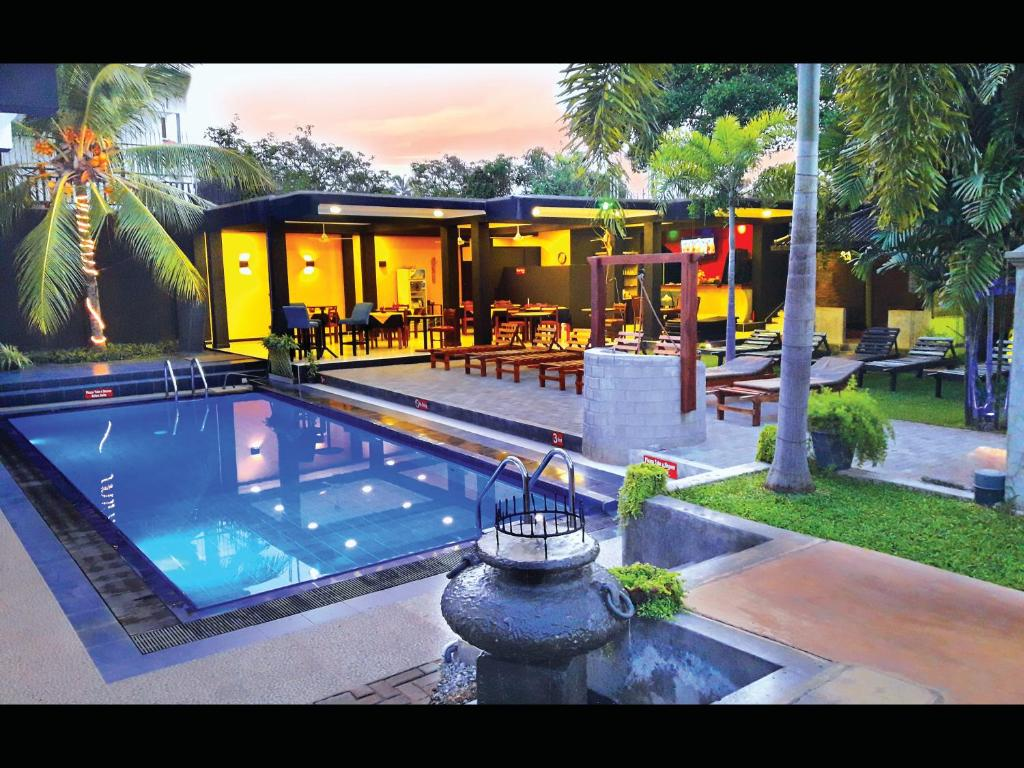 The swimming pool at or near The Panorama Negombo