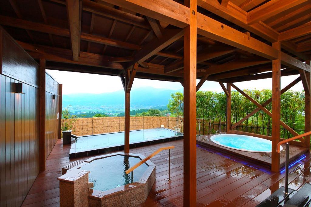 ポイント1.眺めにこだわった露天風呂