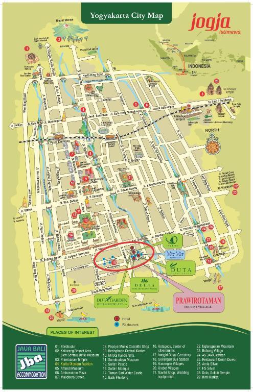 Duta Garden Hotel Yogyakarta Indonesia Bookingcom - Yogyakarta map