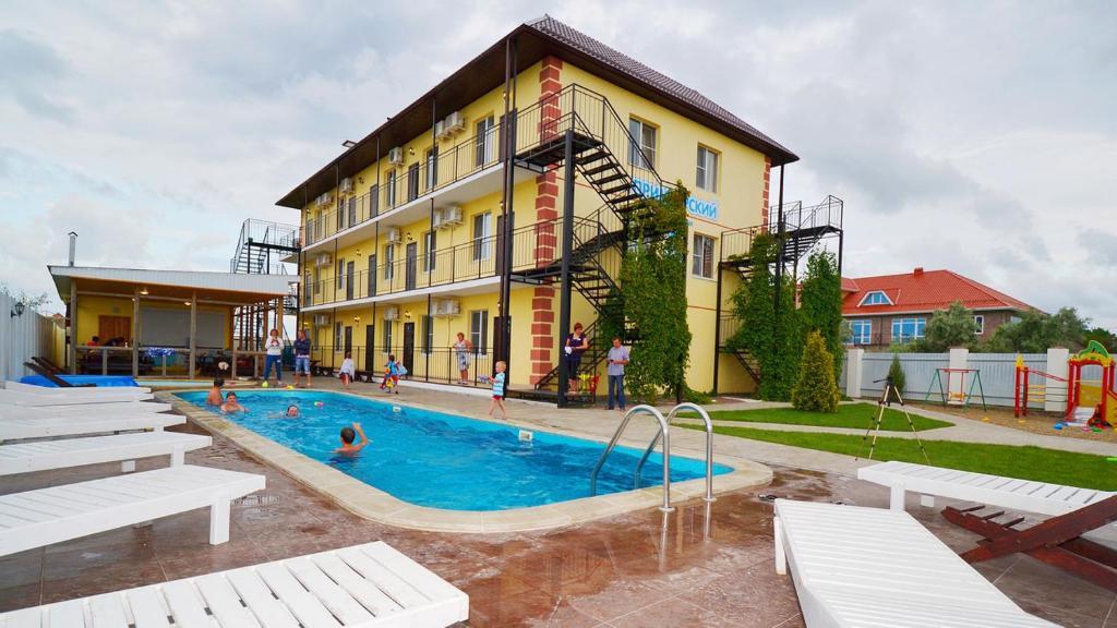 район жемчужина отель в станице голубицкая предоставления налоговых каникул