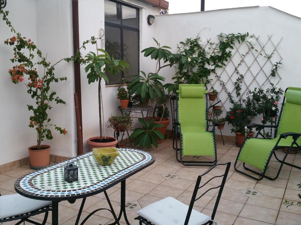 Delizioso due camere in attico con terrazza palermo u prezzi