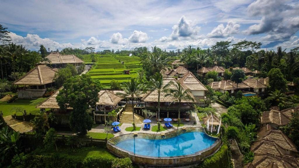 A view of the pool at Puri Wulandari - A Boutique Resort & Spa or nearby