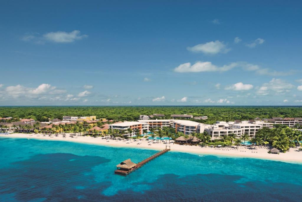 A bird's-eye view of Secrets Aura Cozumel All Inclusive - Adults Only