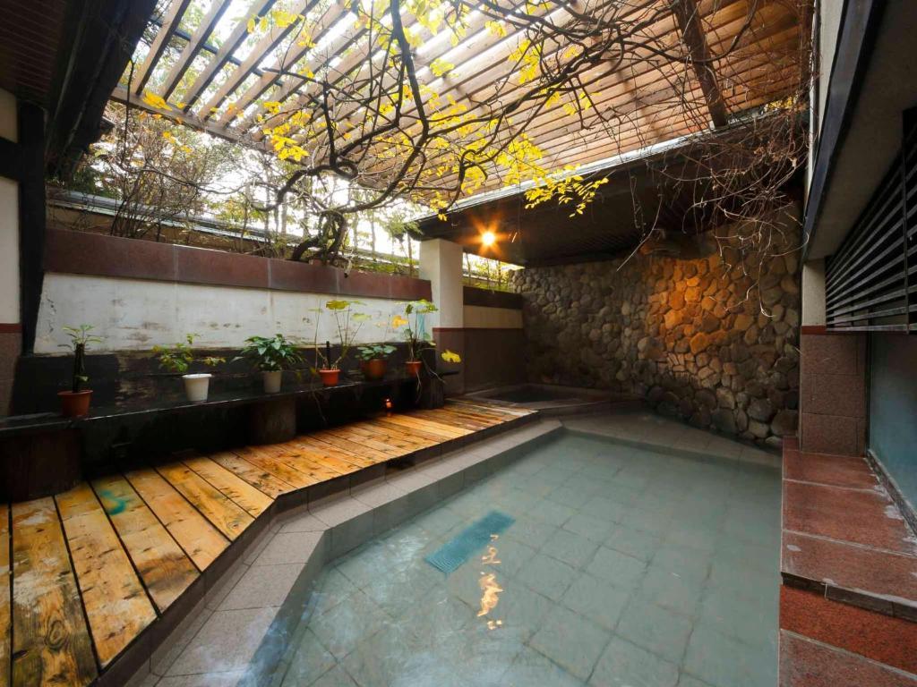 ポイント1.武雄温泉の美人の湯が堪能できる!大浴場