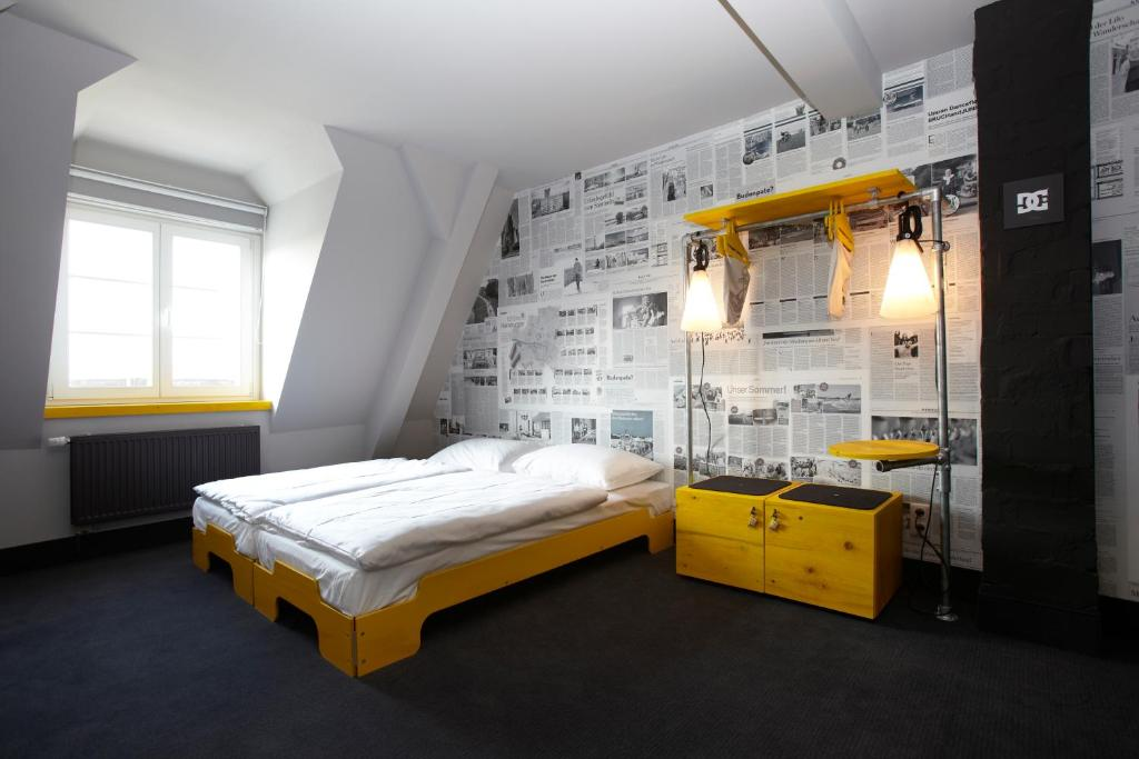 Superbude hostel st pauli hamburg germany for Hotel hamburg designhotel