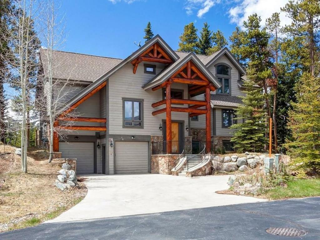 Mountain bear lodge home carpenter usa for Mountain house lodge
