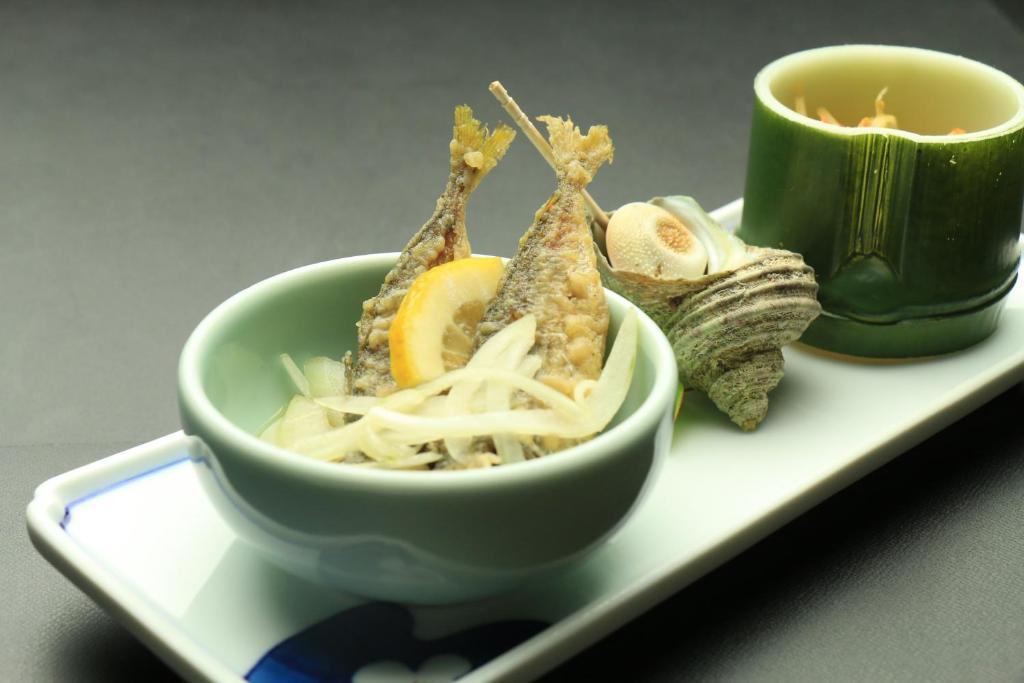 ポイント1.壱岐の美味しい料理が勢揃い!大満足の食事