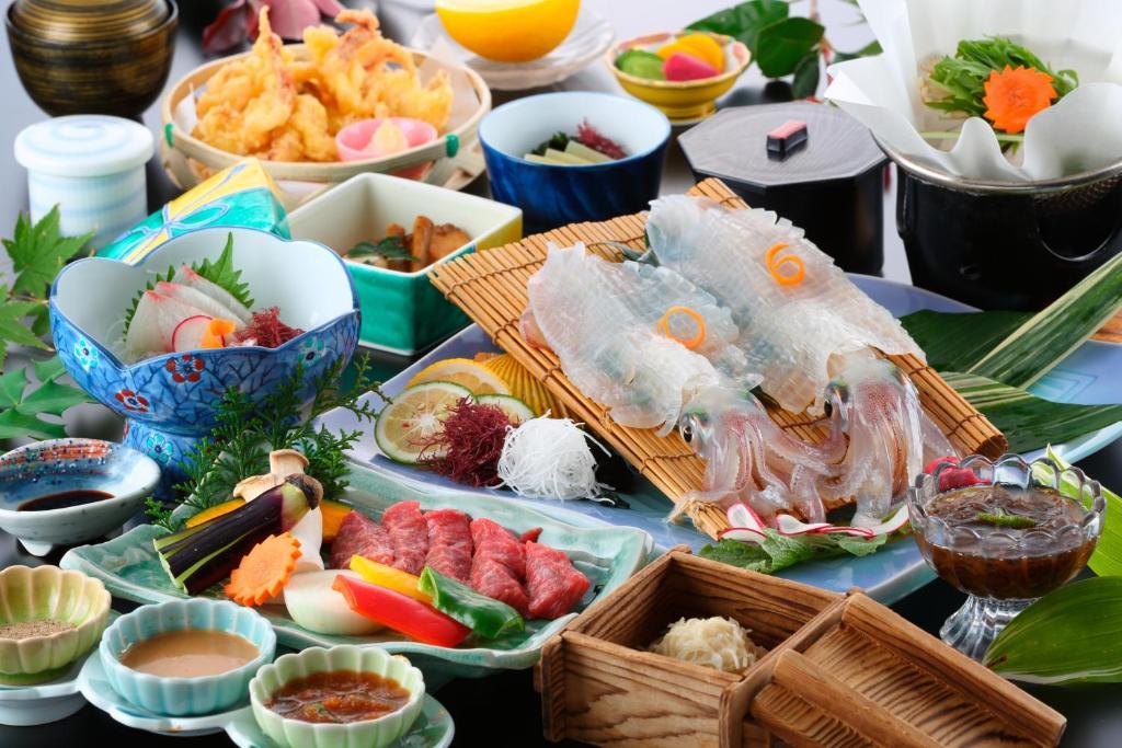 ポイント2.呼子のイカも佐賀牛も楽しめる贅沢料理
