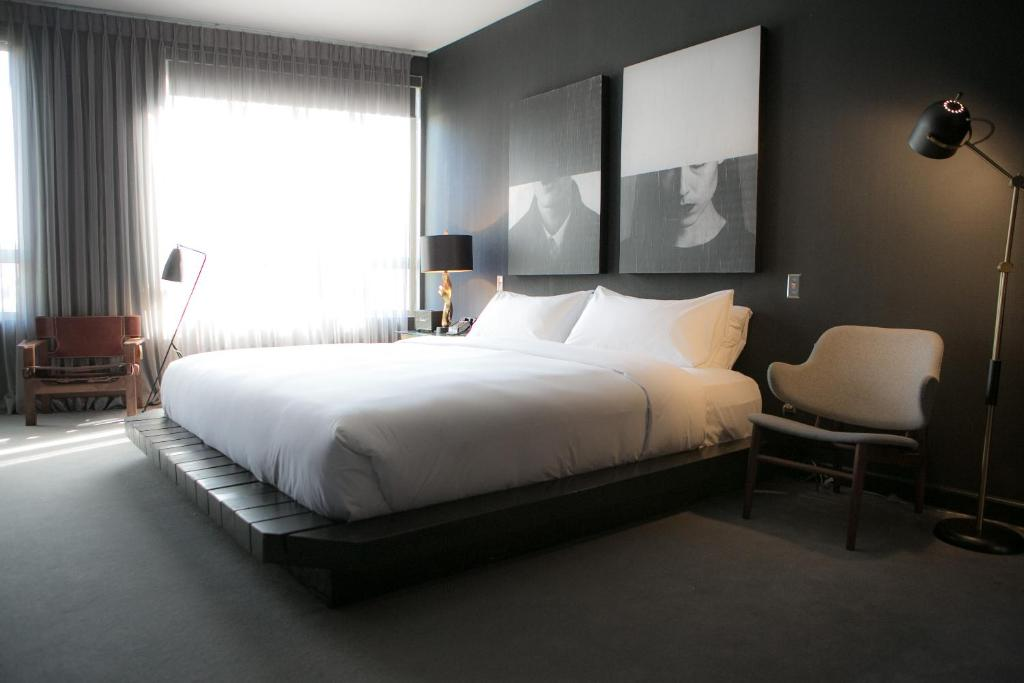 A room at the Tuck Hotel.