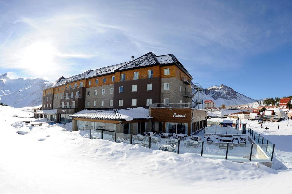 Virgo Hotel & Spa during the winter