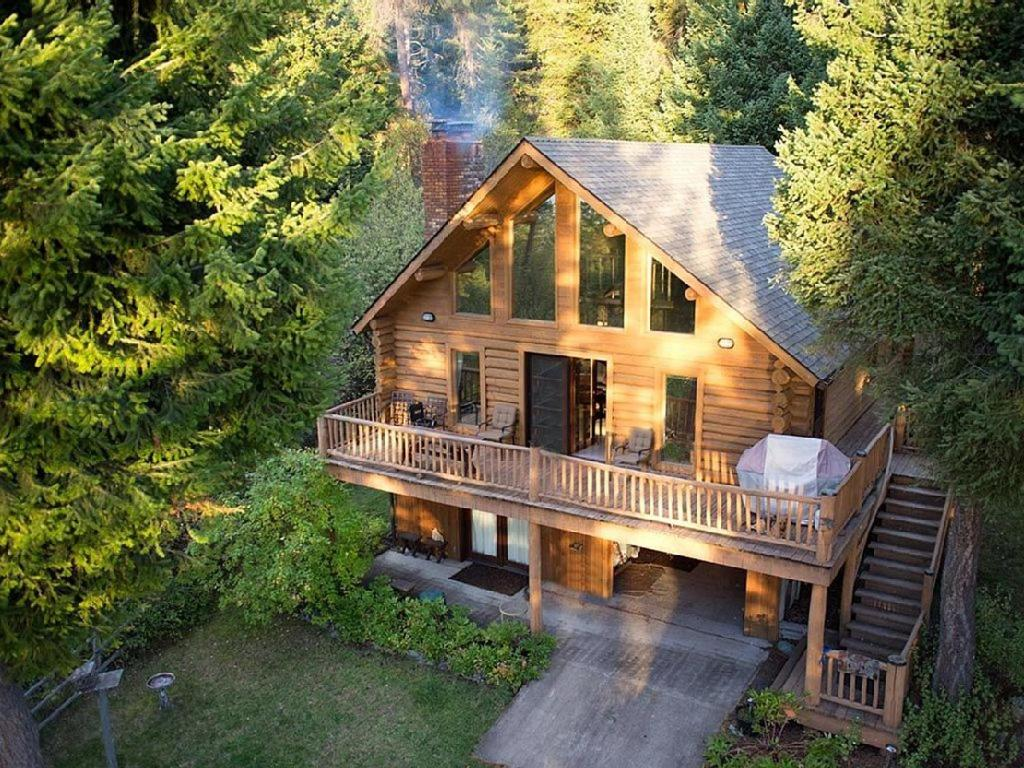 vacation home flathead lake log cabin polson mt booking com