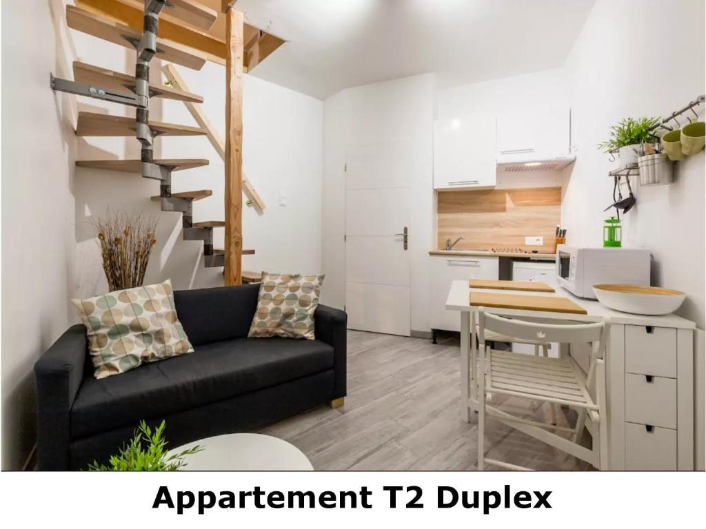 Appartement t2 duplex revel med bilder for Appartement t2