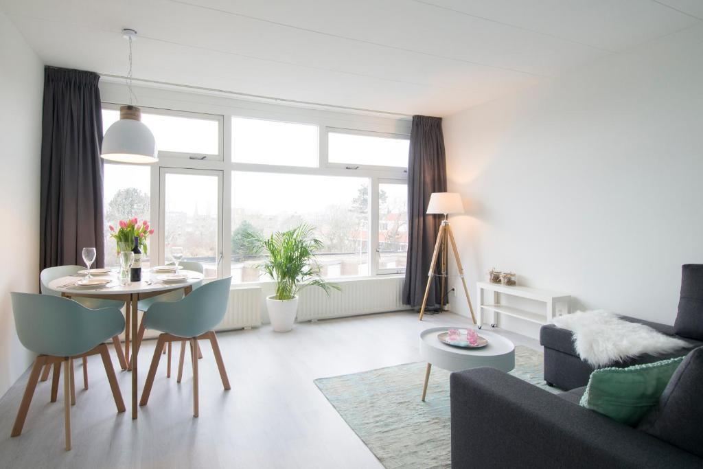 Zona de estar de Appartement Zandvoort