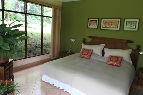 A bed or beds in a room at El jardín de Anabelle