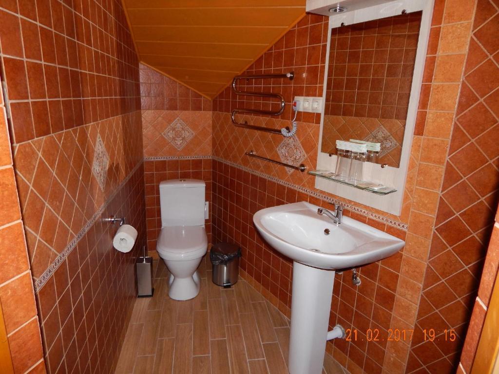 Ванная комната в Отель «Барин»