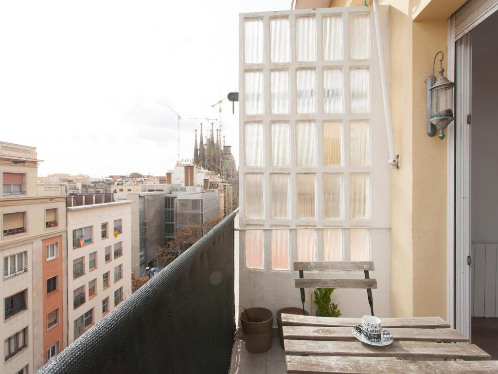 Rooftop Sagrada Familia fotografía