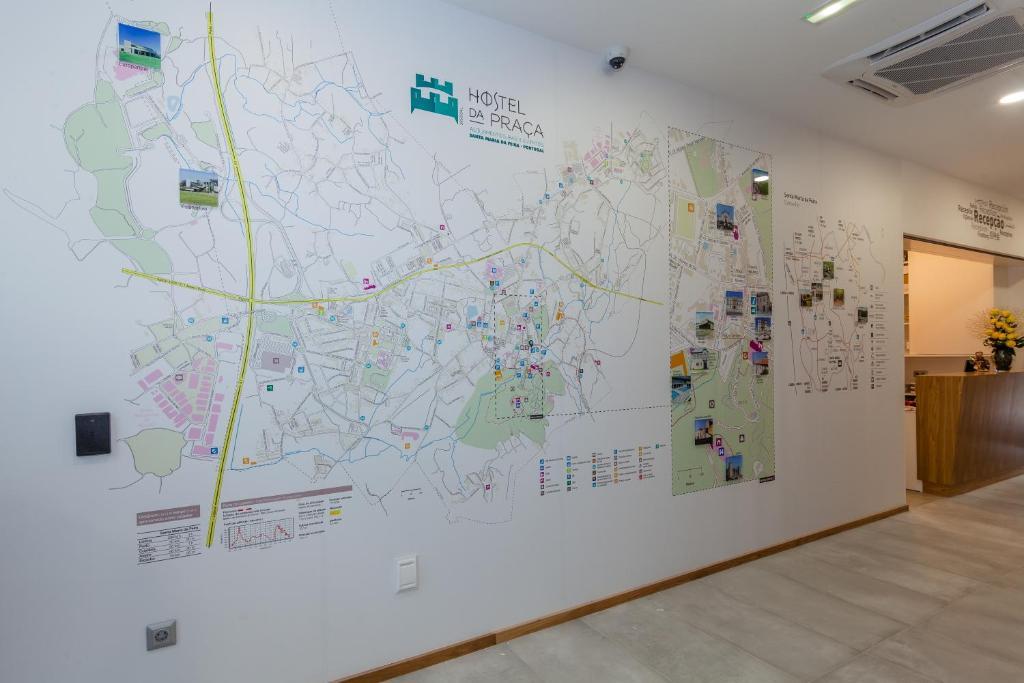 Hostel Da Praça Santa Maria Da Feira Portugal Bookingcom - Portugal hostel map
