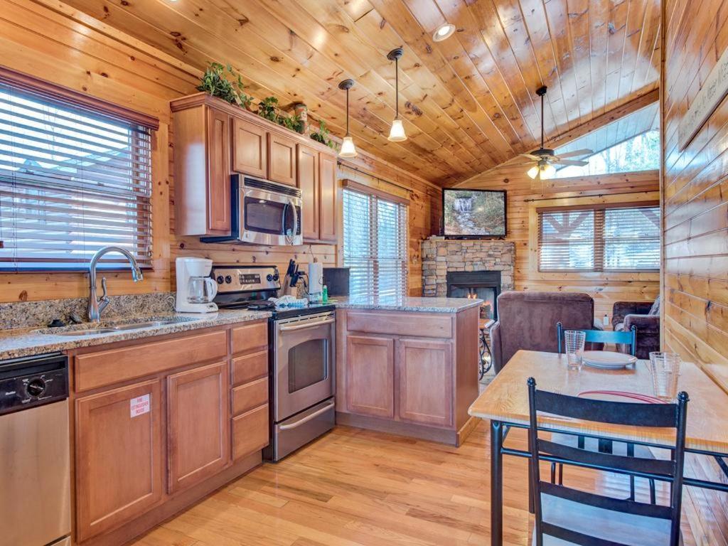 holiday in hills cabin rental hemlock gatlinburg romantic cabins bedroom