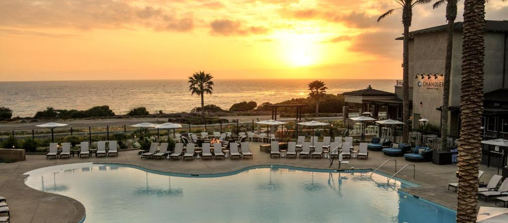 The swimming pool at or near Cape Rey Carlsbad Beach, A Hilton Resort & Spa