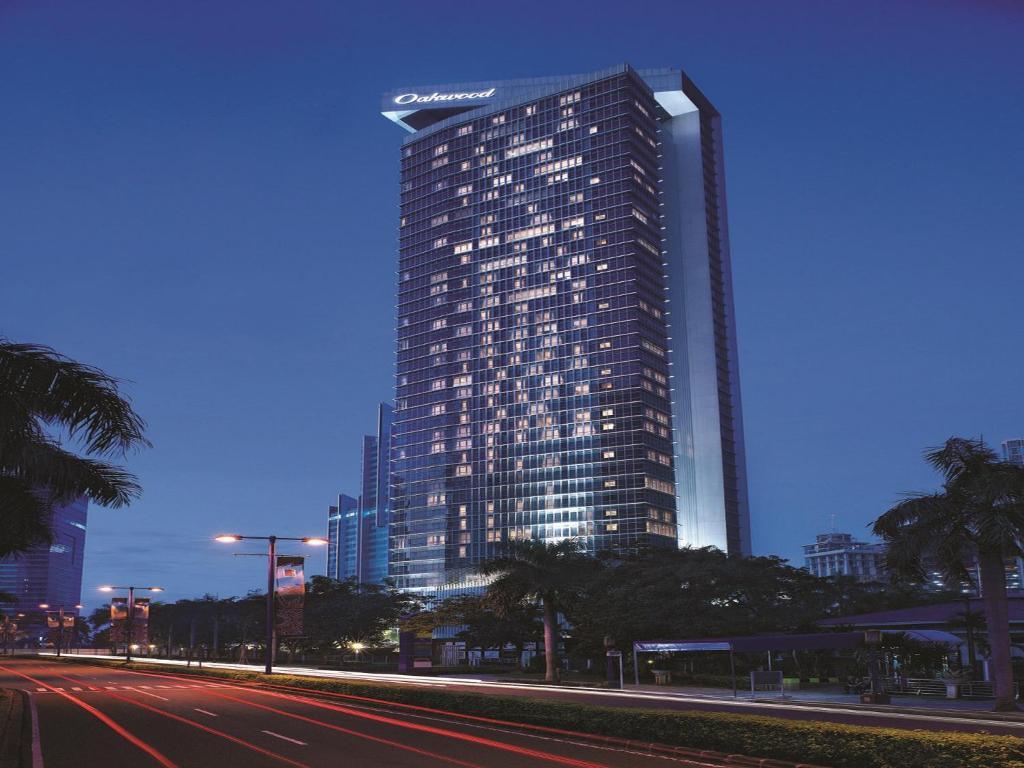 Condo hotel oakwood premier cozmo jakarta indonesia for The oakwood