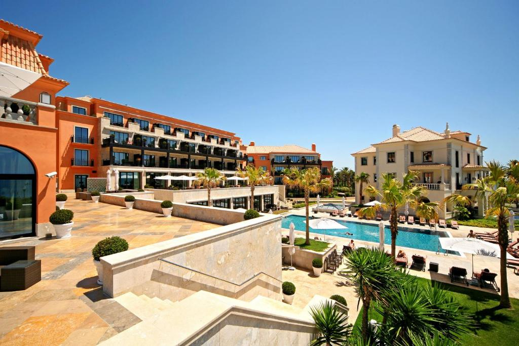 A view of the pool at Grande Real Villa Itália Hotel & Spa or nearby