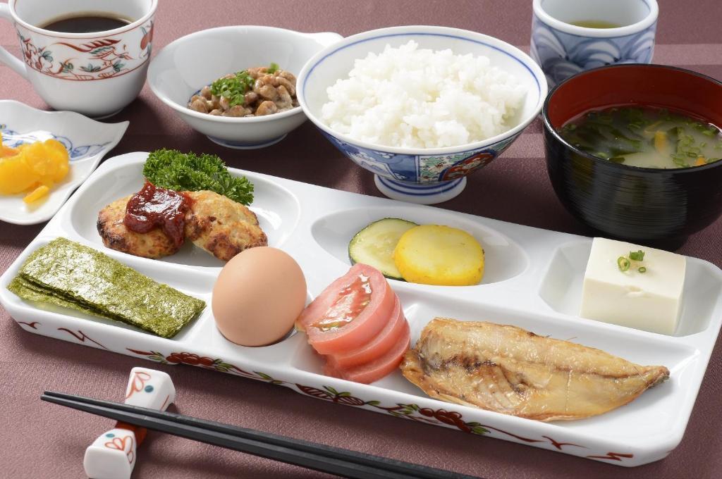 ポイント1.和食と洋食から選べる朝食