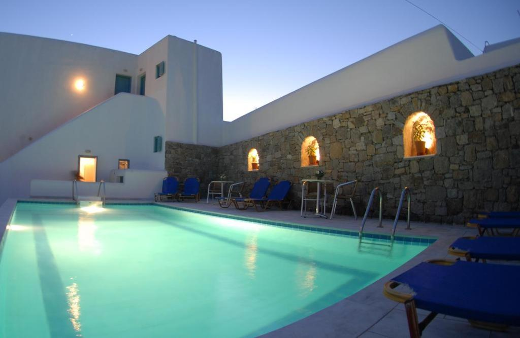 The swimming pool at or close to Asteri Hotel