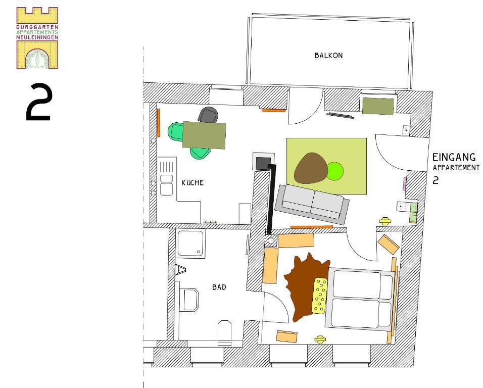 Burggarten Appartements Neuleiningen, Neuleiningen – Updated 2018 Prices