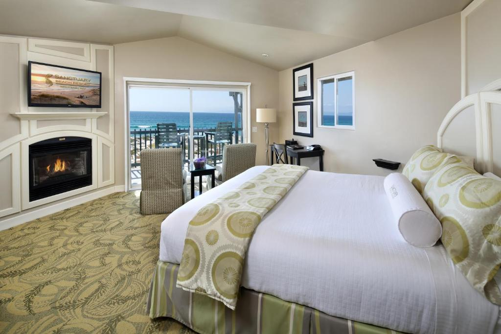 Monterey Bay Ca El Pos Sanctuary Beach Resort