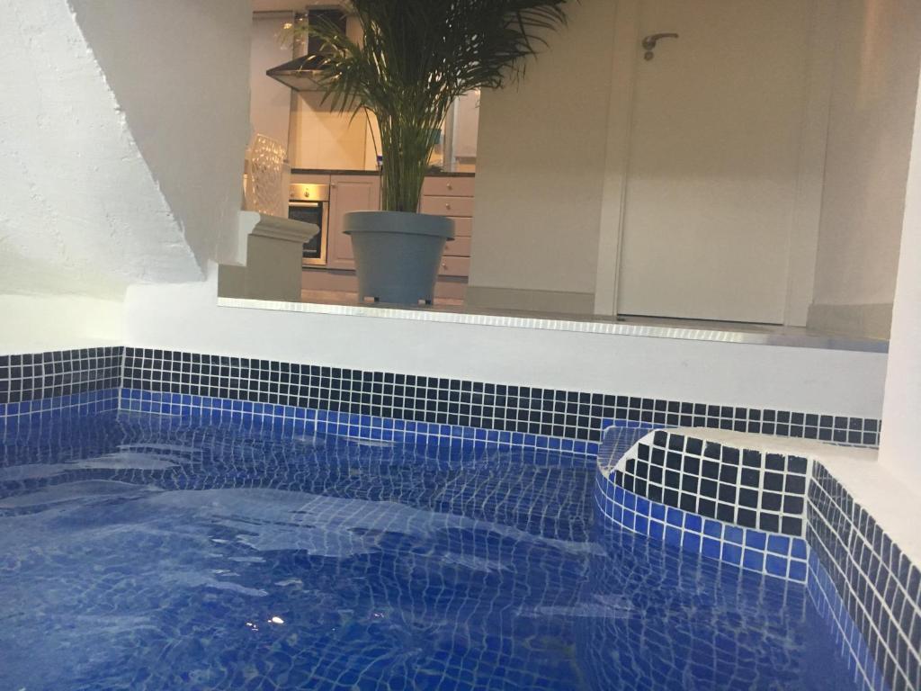 Apartamento con piscina climatizada privada en 1ª linea