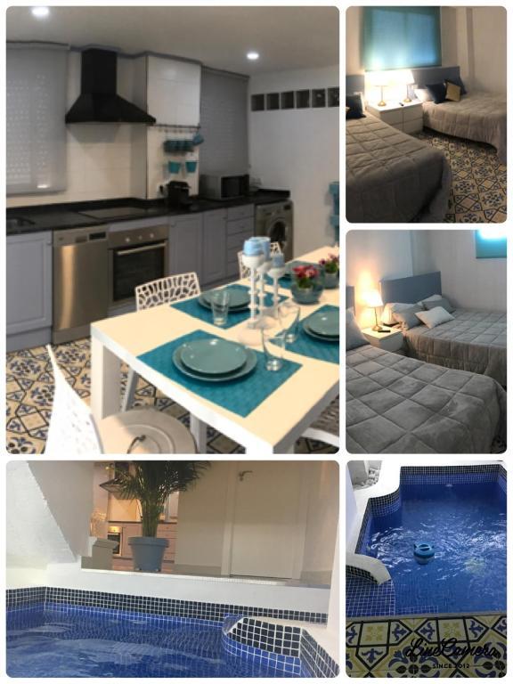 Bonita foto de Apartamento con piscina climatizada privada en 1ª linea