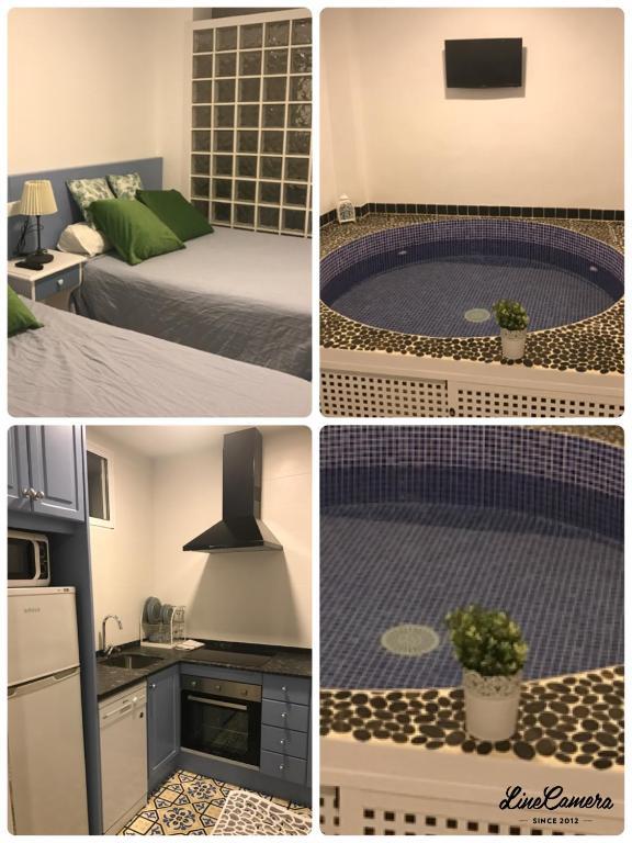 Apartamento con piscina climatizada privada en 1ª linea fotografía