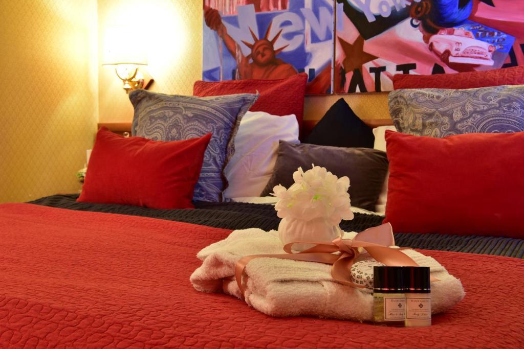 Letto o letti in una camera di De Curtis Palace