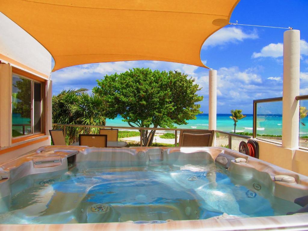 Villa casa grande playa del carmen mexico - Casa de playa ...