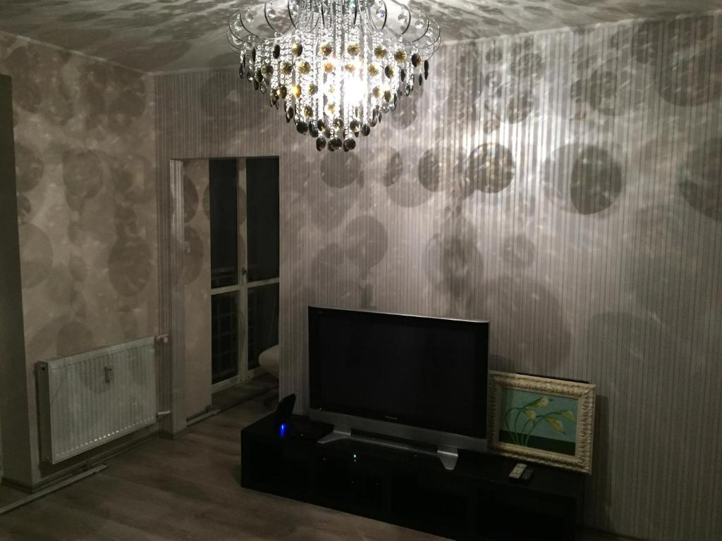 A television and/or entertainment center at Apartment 1 Bratislava city center