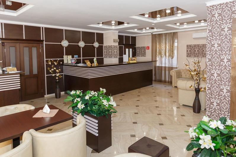 Лобби или стойка регистрации в Отель Мартон на ВЛКСМ