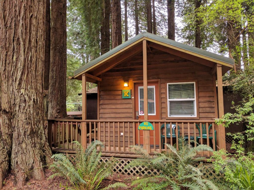 cabin camping in the woods. Gallery Image Of This Property Cabin Camping In The Woods