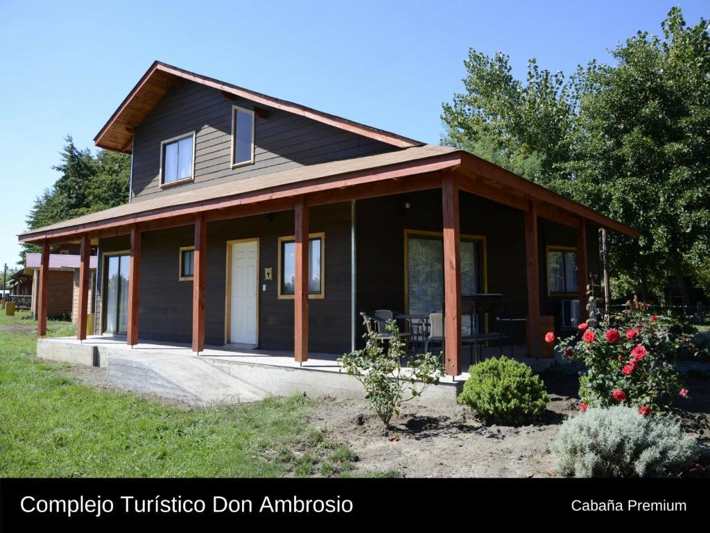 Outdoor Sitting Area Vacation Home Cabanas Turismo Don Ambrosio El Manzano