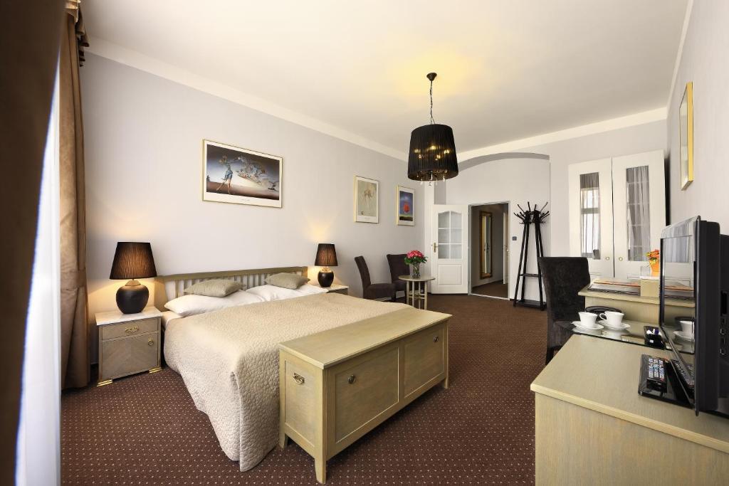 hoteles recomendados en praga