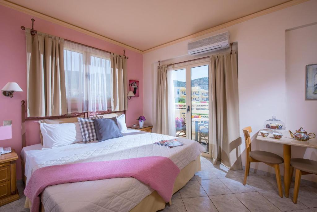 a comparison between a hotel and a two bedroom apartment