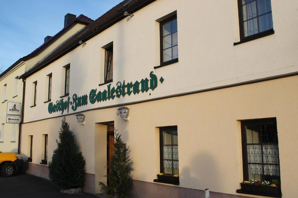 Gasthof Pension Zum Saalestrand Deutschland Bad Durrenberg