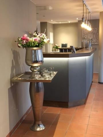 The lobby or reception area at Hotel Haus Vorst