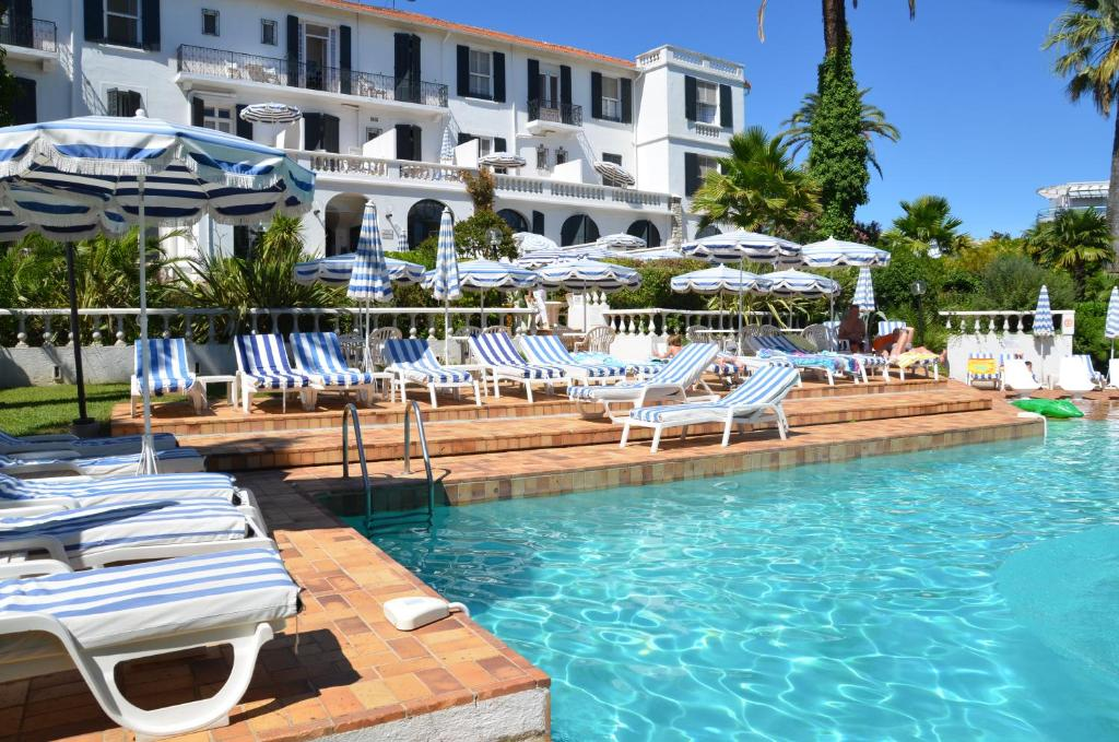 Hotel des Mimosas JuanlesPins France Bookingcom