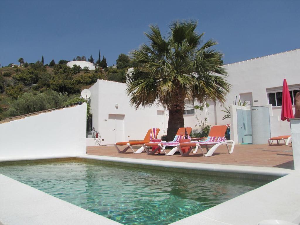 The swimming pool at or near Casa Los Dos
