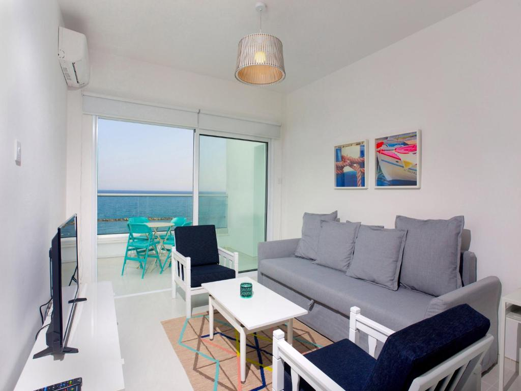 Apartment Limassol On The Beach Cyprus Bookingcom