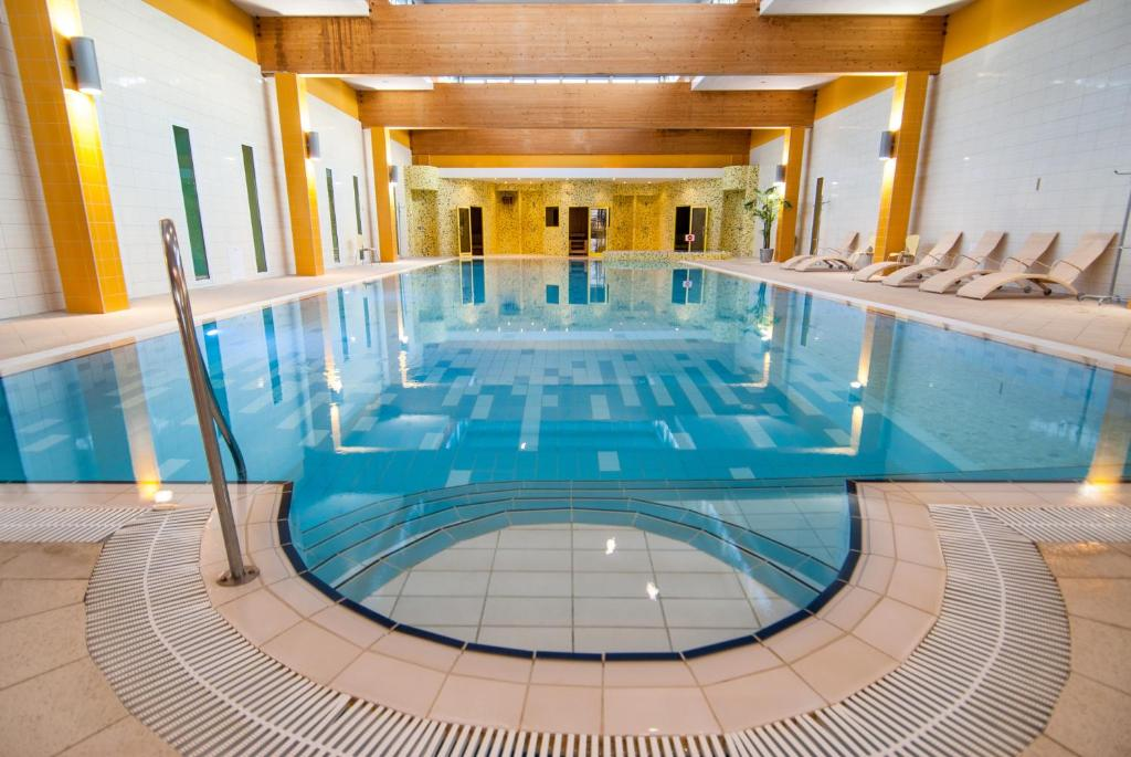 "The swimming pool at or near Medical SPA ""Eglės sanatorija"" Standard Druskininkai"