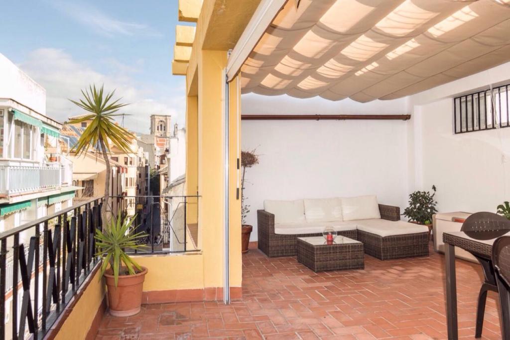 Apartamento terraza en paz granada spain for Terraza del apartamento