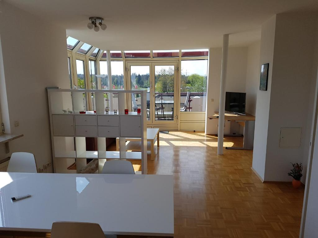 Apartment Pegasus Penthouse Neuried Germany Booking Com
