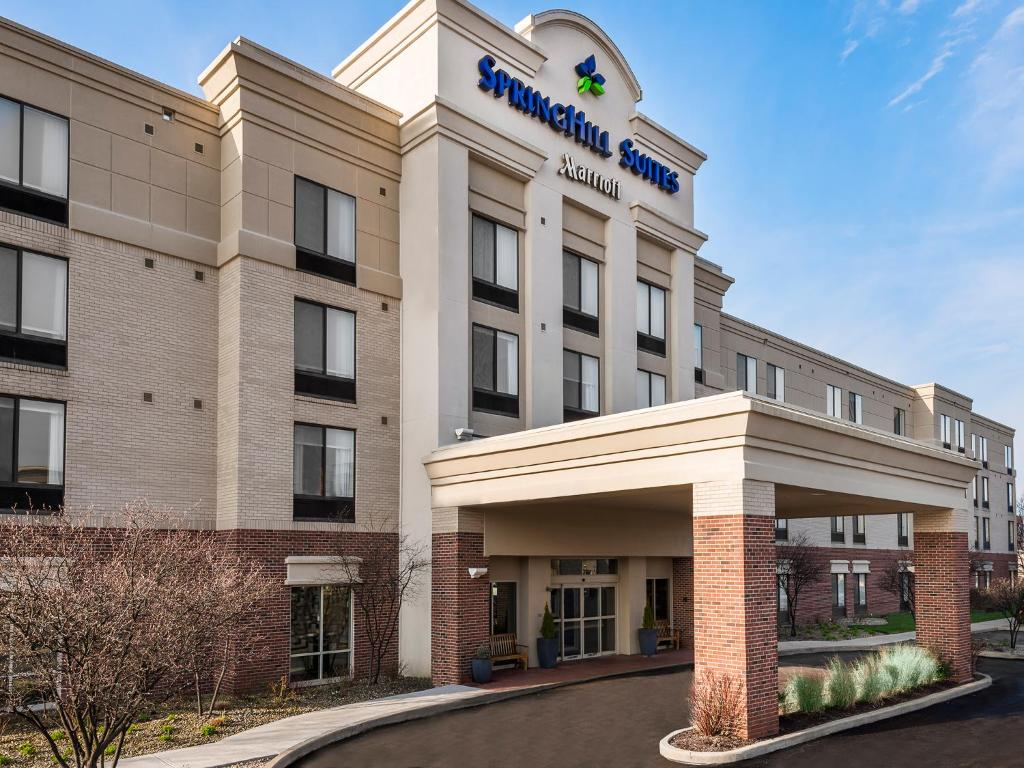 Fitness Center Picture Of Springhill Suites Indianapolis Carmel