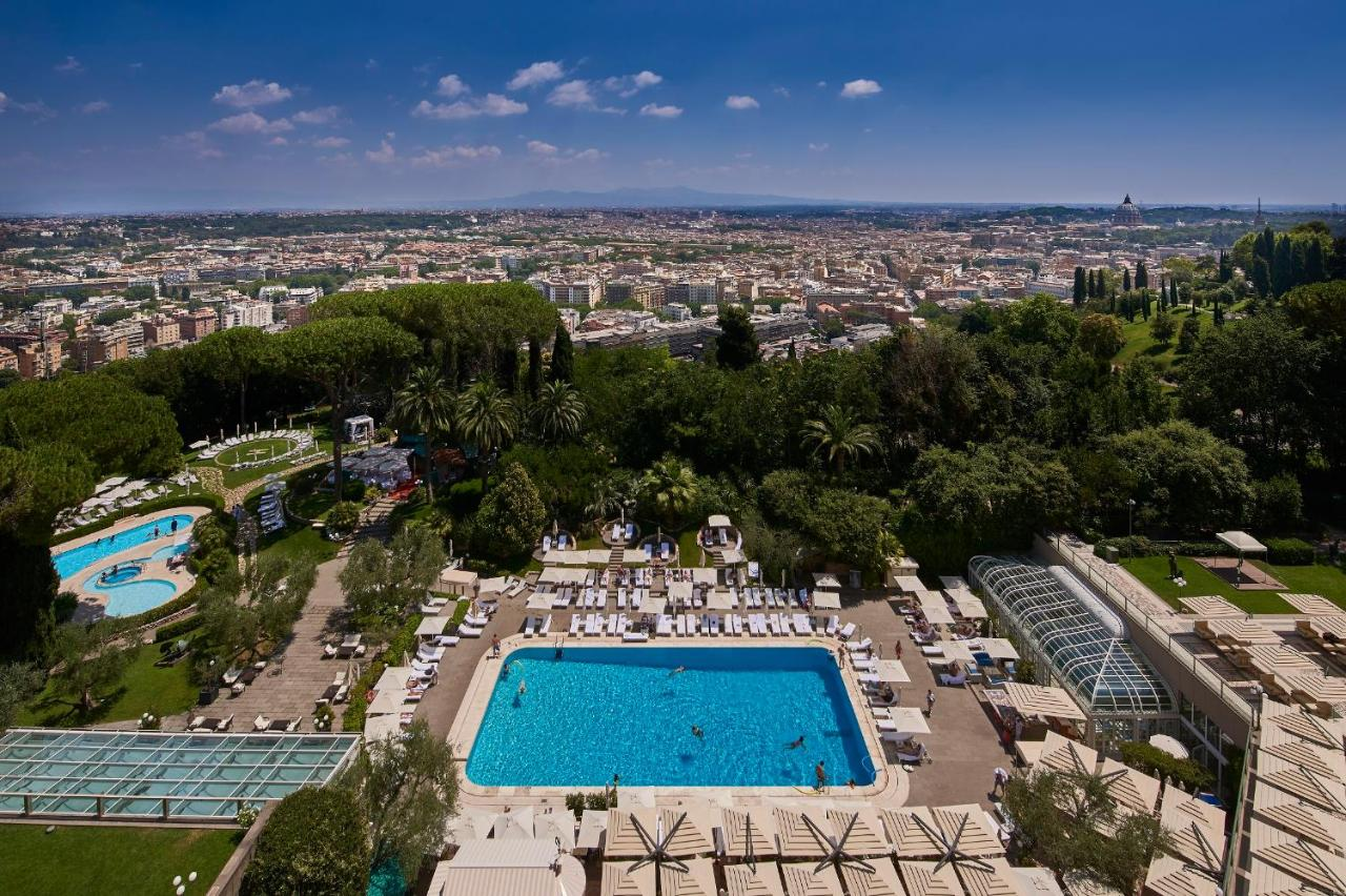 Image result for cavalieri hotel rome pool